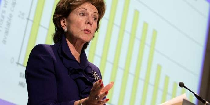 La commissaire européenne à la concurrence, Neelie Kroes, le 10 janvier 2007 à Bruxelles.