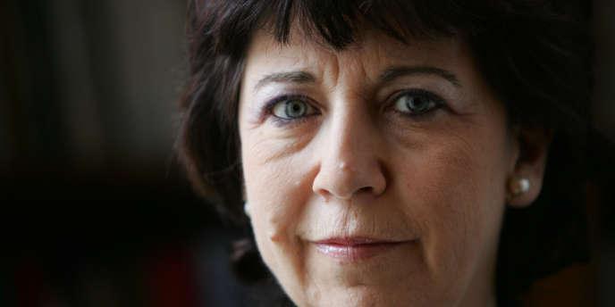 Corinne Lepage, candidate du mouvement écologiste Cap 21.