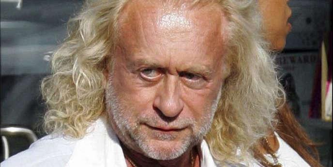 Le chanteur Michel Polnareff à Malibu, le 31 juillet 2005.