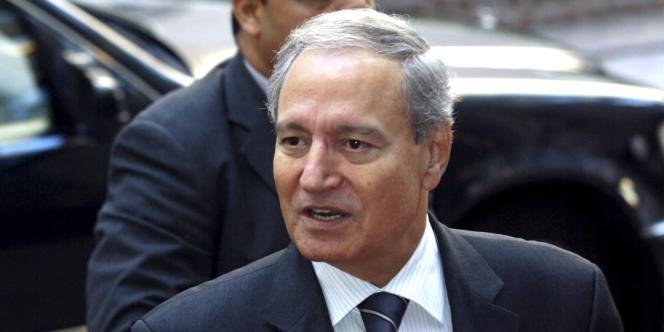 Farouk Al-Chareh (ici le 21 juin 2005) a été écarté de la direction du parti Baas.
