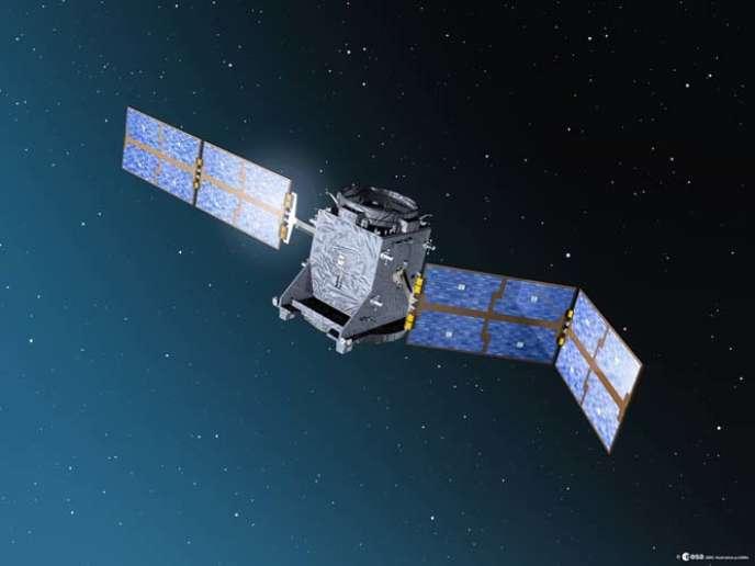 Giove A2, un des satellites du système GPS Galileo.