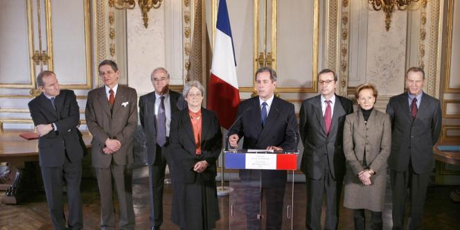 Le Conseil constitutionnel, le 19 mars 2007.