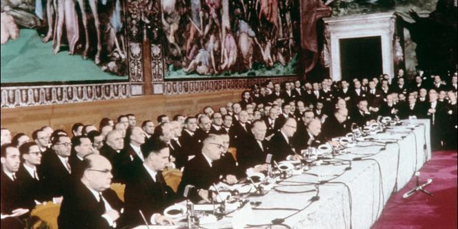 Traité de Rome, 25 mars 1957.