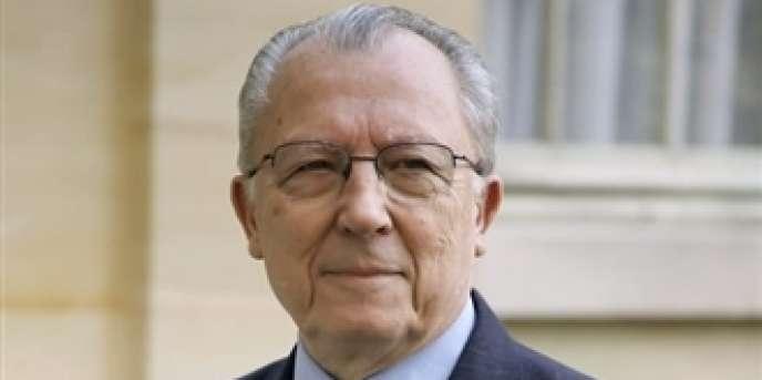 Jacques Delors, ancien président de la Commission européenne et ancien ministre, en novembre 2006.