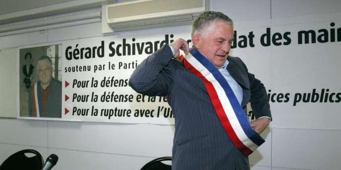 Gérard Schivardi, le 23 mars 2007.