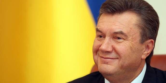 Victor Ianoukovitch, le 5 avril 2007.