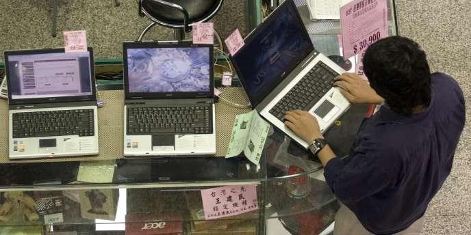 Les taïwanais Acer (photo) et Asus sont les plus touchés par le mauvais état du secteur : les deux groupes enregistrent respectivement un recul de 28,1 % et 17,7 % du nombre de PC vendus sous leur marque.