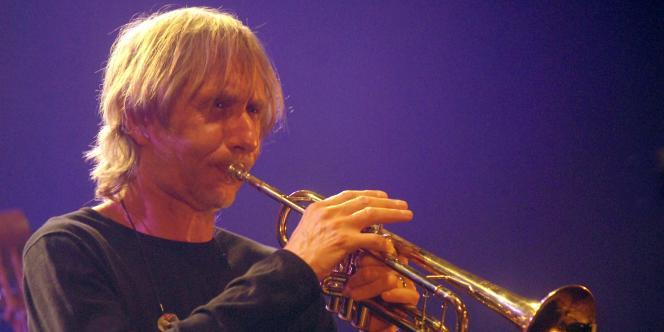 Le jazzman français Erik Truffaz en concert au Printemps de Bourges, le 19 avril 2007.