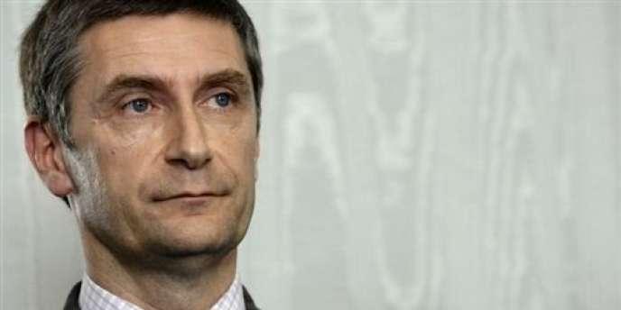 Frédéric Péchenard, l'ex-délégué interministériel à la Sécurité routière, lundi 11 avril 2007 à Paris.
