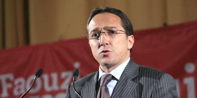 Faouzi Lamdaoui à Bezons en mai 2007.
