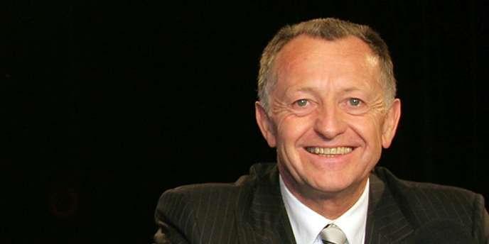 Jean-Michel Aulas, ici en 2007 au micro d'OL TV.
