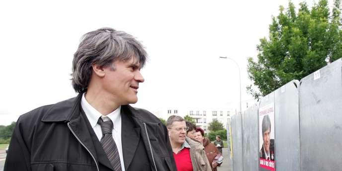 Stéphane Le Foll, député européen, en 2007.