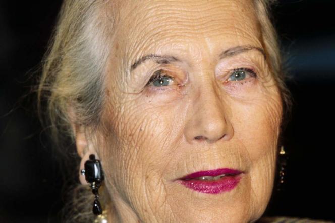 La romancière d'origine belge Dominique Rolin sur le plateau de l'émission