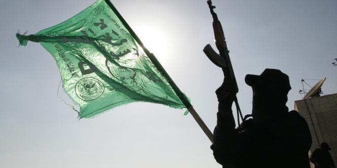 Un combattant du Hamas, à Gaza, le 14 juin 2007.