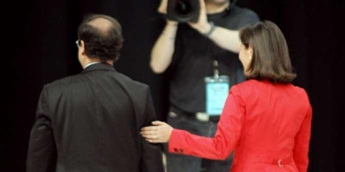 Ségolène Royal et François Hollande, le 29 mars 2007 à Limoges.
