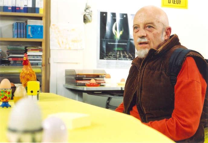 Luc Moullet, acteur et réalisateur, dans son film «Le Prestige de la mort», sorti en salle en juin 2007.