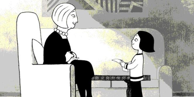 Une image du film d'animation français de Marjane Satrapi et Vincent Paronnaud,