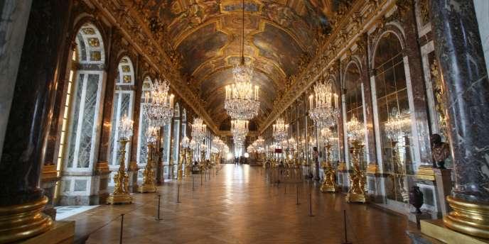 La galerie des Glaces, à Versailles.