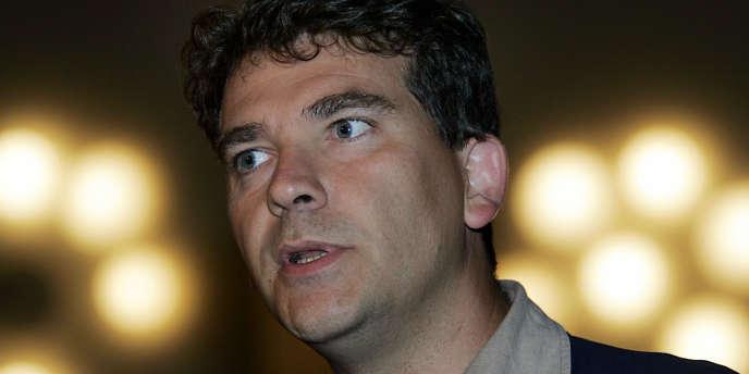 Arnaud Montebourg, député (PS) de Saône-et-Loire.