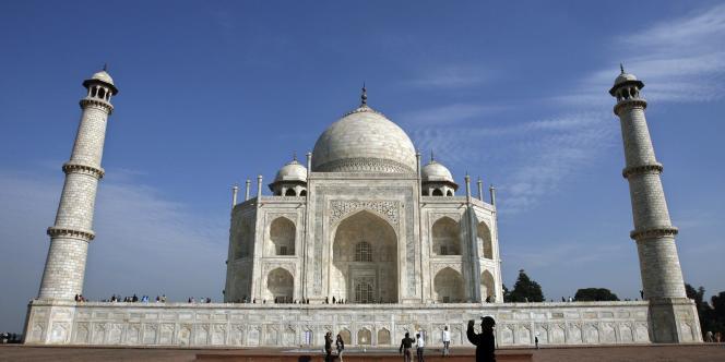 Le Taj Mahal.