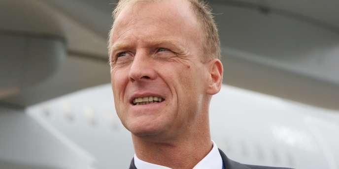 Thomas Enders, le nouveau président exécutif d'EADS.
