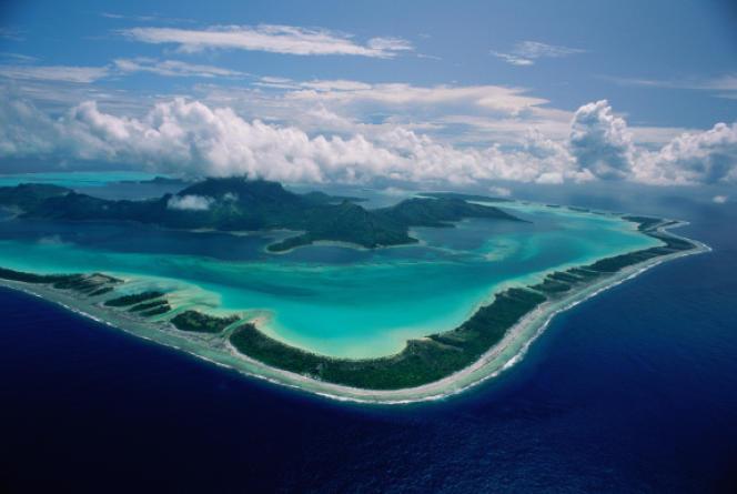 Polynésie, Bora Bora.