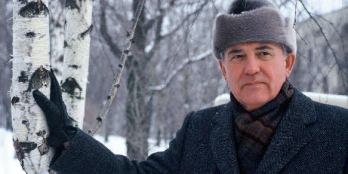 Mikhaïl Sergueïevitch Gorbatchev, dirigeant de l'URSS entre 1985 et 1991.