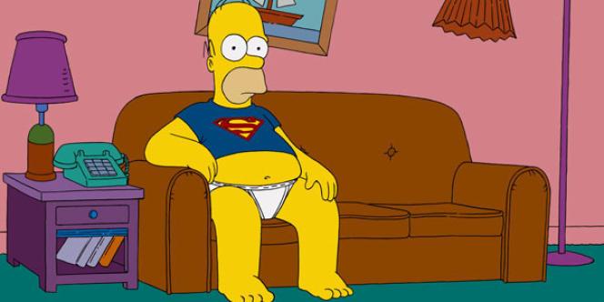 Les Simpson (The Simspons), l'une des séries diffusées gratuitement par le site Hulu.com aux Etats-Unis.
