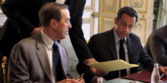 L'ancien conseiller de Nicolas Sarkozy, Claude Guéant, devenu aujourd'hui ministre de l'intérieur.