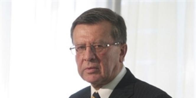 Viktor Zoubkov, ancien premier ministre et président d'administration de Gazprom.