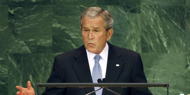 Dans son discours devant l'Assemblée générale de l'ONU, mardi 25 septembre, George Bush a dénoncé le