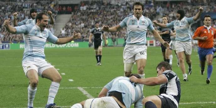 En 2007, l'Argentine avait battu l'Ecosse en quart de finale de la Coupe du monde.