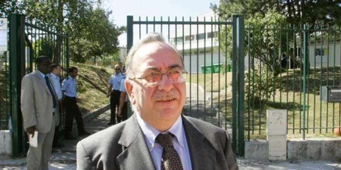 Le député de Paris Serge Blisko, en août 2005 à Paris.
