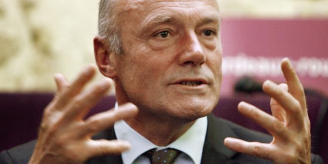 Alain Rousset, le président socialiste du conseil régional d'Aquitaine.
