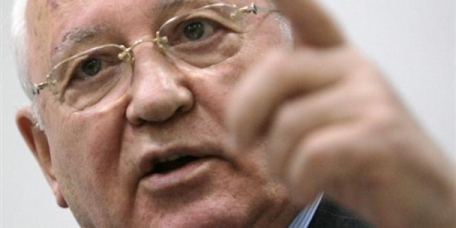 L'ancien président soviétique Mikhaïl Gorbatchev.