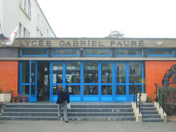 Le lycée Gabriel-Fauré, à Paris, dans le 13e arrondissement, fait partie des 20établissements de France ayant la meilleure « valeur ajoutée» pour ses élèves, selon les indicateurs du ministère de l'éducation nationale sur le bac 2016.