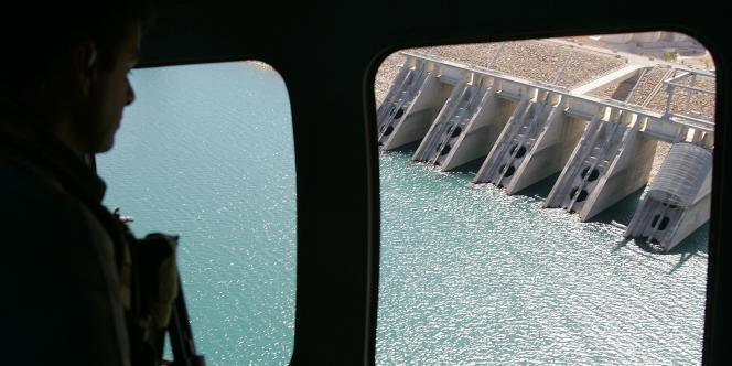 Le barrage de Mossoul.