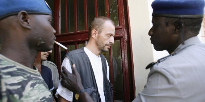 Eric Breteau, président de L'Arche de Zoé, le 3 novembre 2007 à N'Djamena.