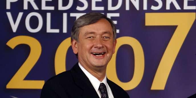 Danilo Turk, le président slovène, en 2007.