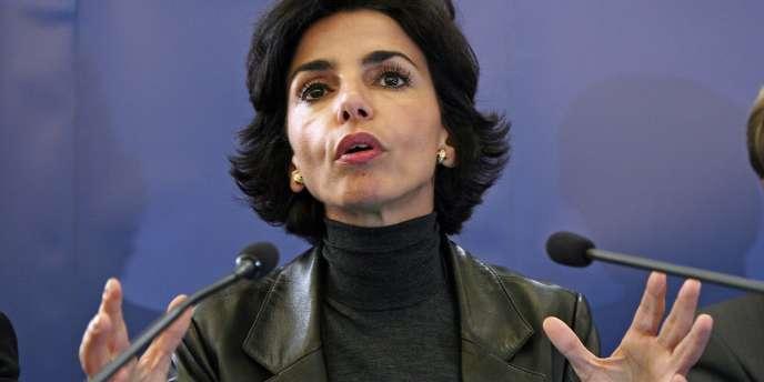 Rachida Dati, le 10 novembre 2007.