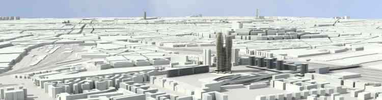 Le projet de l'architecte Abalos pour le quartier de La Chapelle, dans le XVIIIe arrondissement.