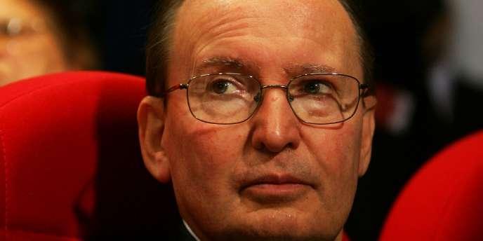 Raymond Soubie, ancien conseiller de Nicolas Sarkozy sur les questions sociales, était arrivé à l'Elysée en 2007.