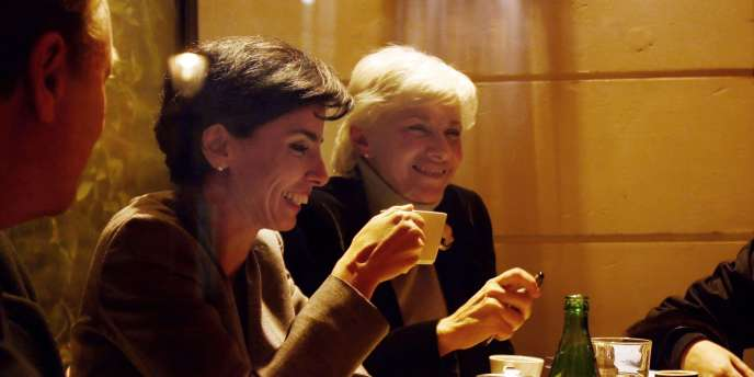 Rachida Dati et Françoise de Panafieu, le 22 novembre 2007.