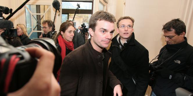 Bruno Julliard, le 15 novembre 2007, à Paris.