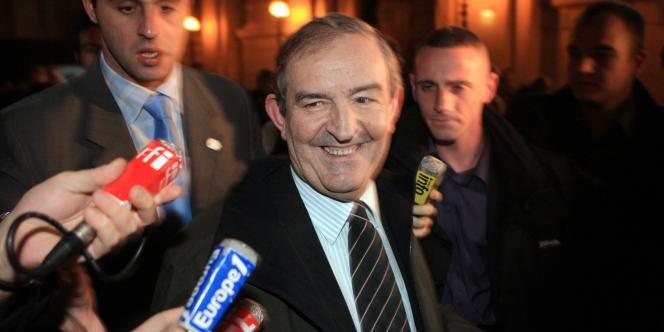 L'ancien juge Jean-Louis Bruguière, le 28 novembre 2007 à Paris.