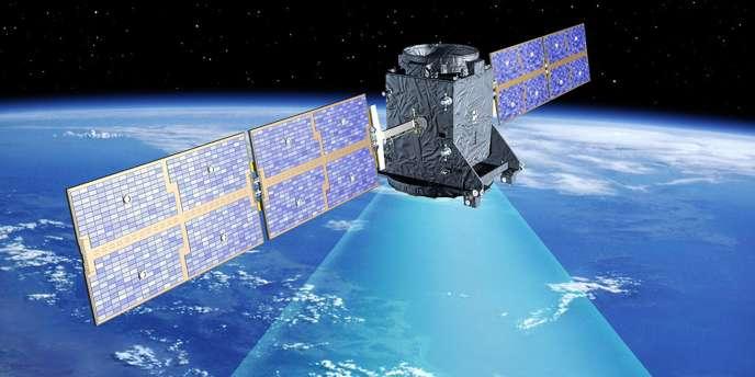 Vue non datée du satellite européen Galileo.