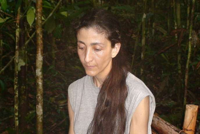 Photo prise le 30 novembre 2007 de la Franco-colombienne Ingrid Betancourt, otage des FARC.