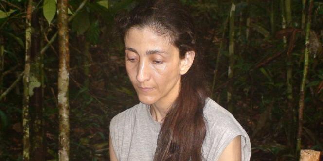 Ingrid Betancourt, le 30 novembre 2007.