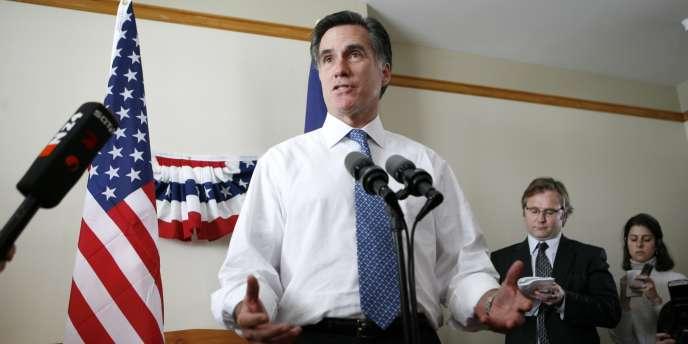 Mitt Romney le 7 décembre 2007.
