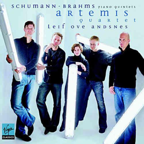 Les affinités électives du jeune Quatuor Artemis (l'un des tout meilleurs actuels) avec le grand piano de Leif Ove Andsnes ont donné un supplément d'âme aux quintettes avec piano de Brahms et Schumann. Charme, beauté sonore, puissance et poésie.